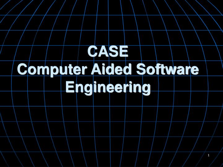 Ppt Case Computer Aided Software Engineering Powerpoint Presentation Id 5750480