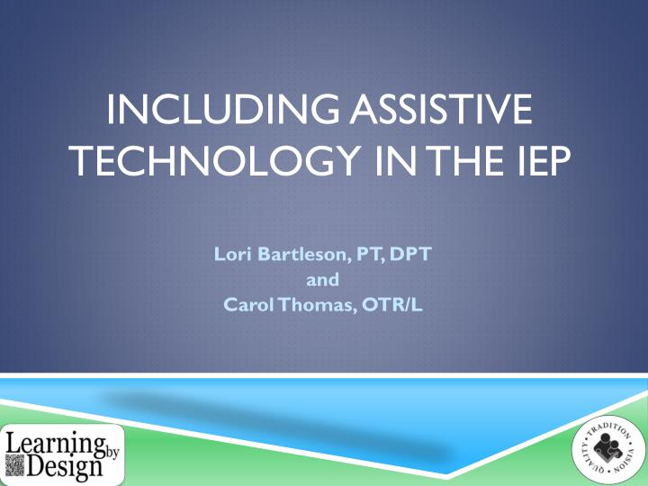 including assistive technology in the iep n.