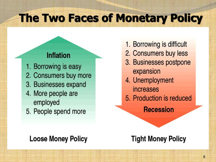 power monitary policy your life The term monetary policy refers to what the federal reserve, the nation's central bank, does to influence the amount of money and credit in the us economy inflation is a sustained increase in the general level of prices, which is equivalent to a decline in the value or purchasing power of money.
