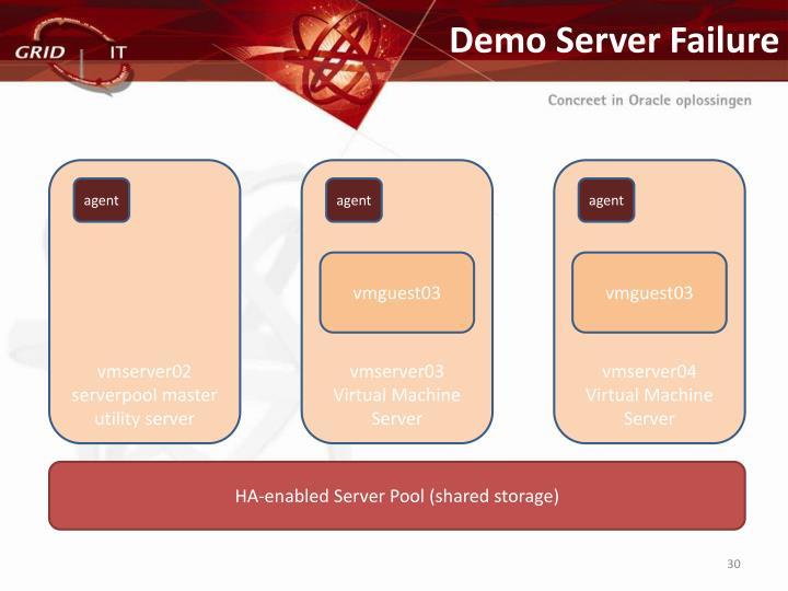 Demo Server Failure
