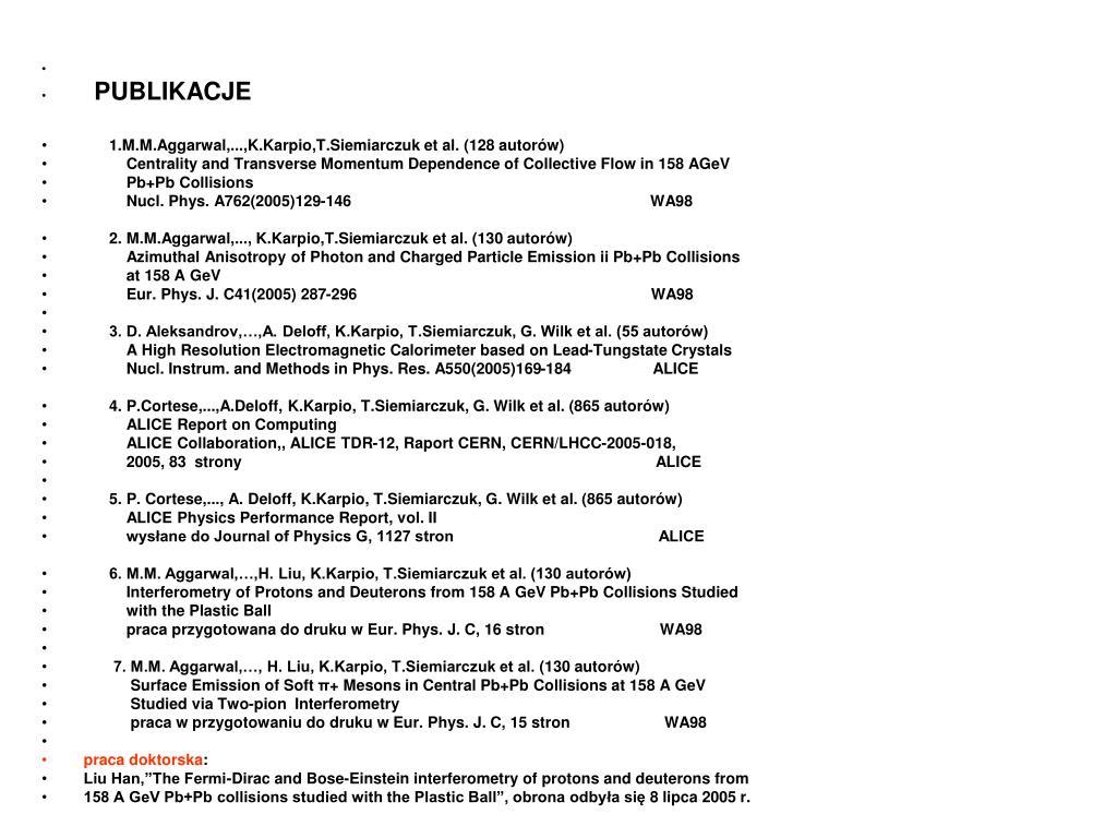 PPT - WA98 ALICE PowerPoint Presentation - ID:5750716