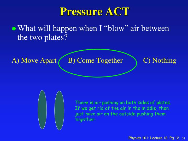 Pressure ACT