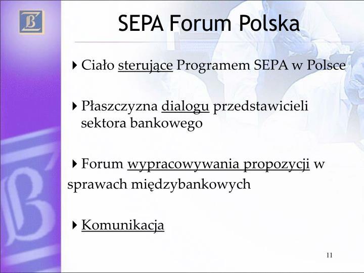 SEPA Forum Polska