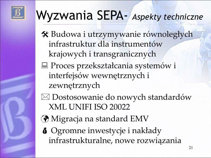 Wyzwania SEPA-