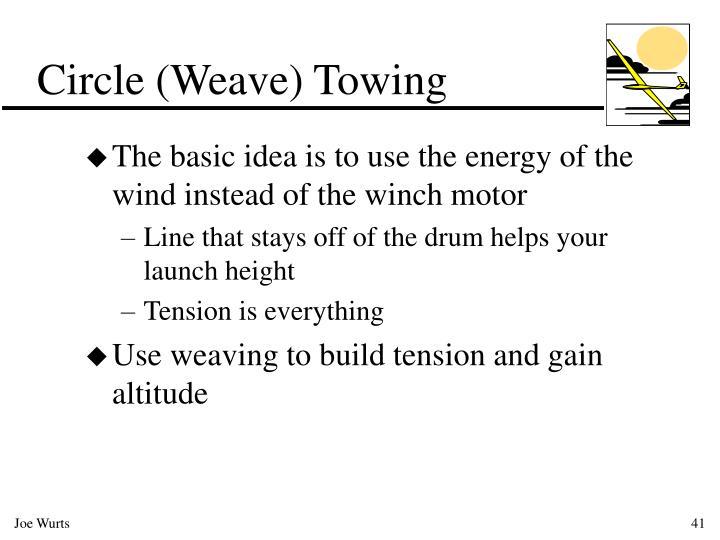 Circle (Weave) Towing