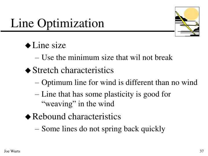 Line Optimization