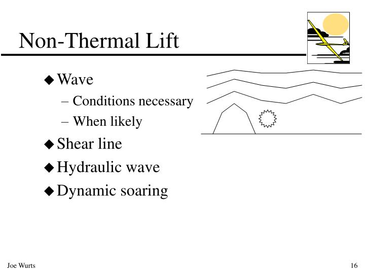 Non-Thermal Lift