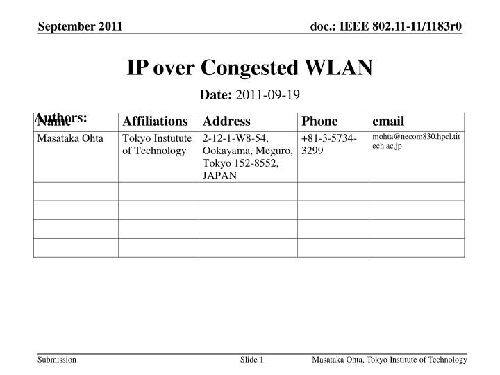 ip over congested wlan n.