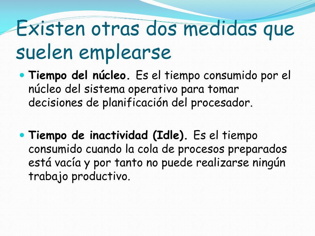 PPT - PLANIFICACION DEL PROCESADOR PowerPoint Presentation