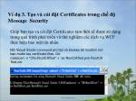 v d 3 t o v c i t certificates trong ch message security