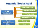 agenda sosialisasi
