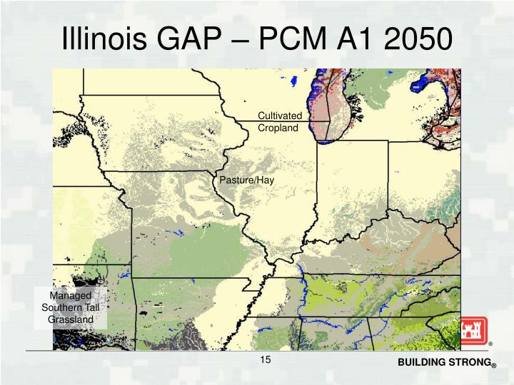 Illinois GAP – PCM A1 2050