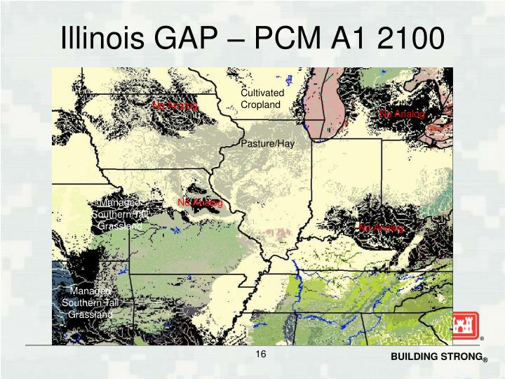 Illinois GAP – PCM A1 2100