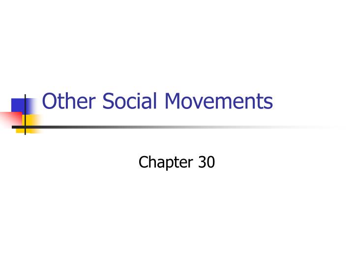other social movements n.