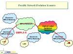possible network evolution scenario3