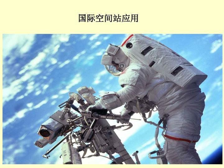 国际空间站应用