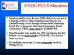 star plus members