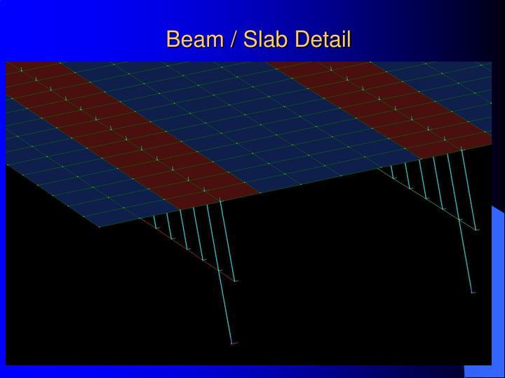 Beam / Slab Detail