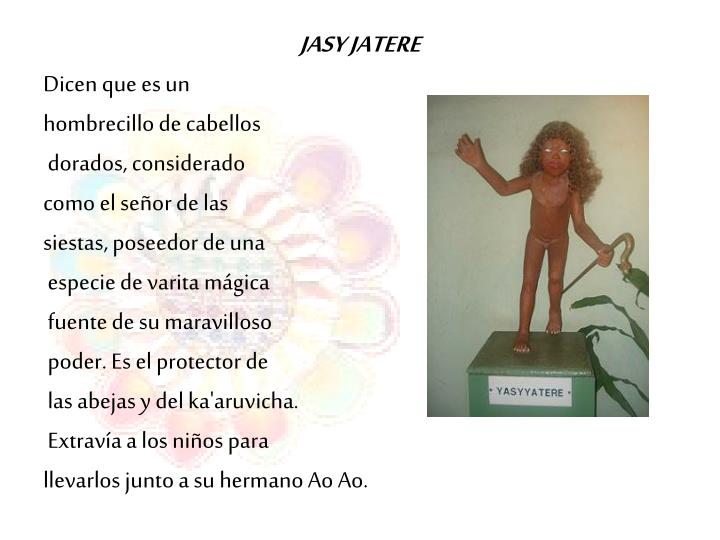 JASY JATERE