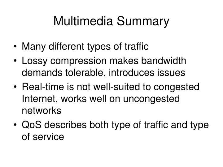 Multimedia Summary