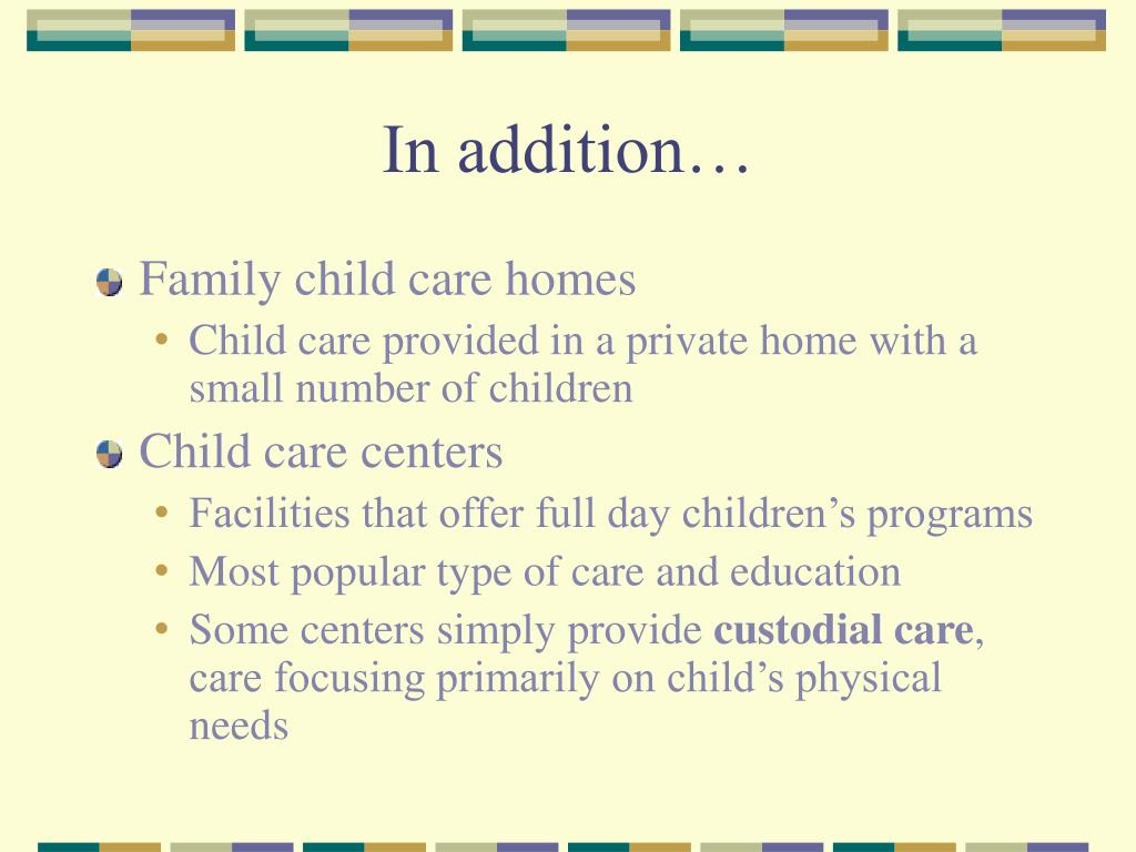Ppt Types Of Early Childhood Programs Powerpoint Presentation Free Download Id 5753963