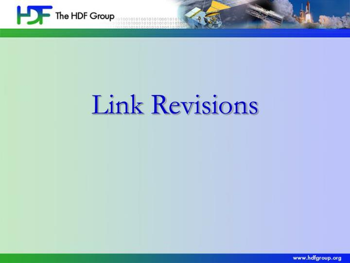 Link Revisions