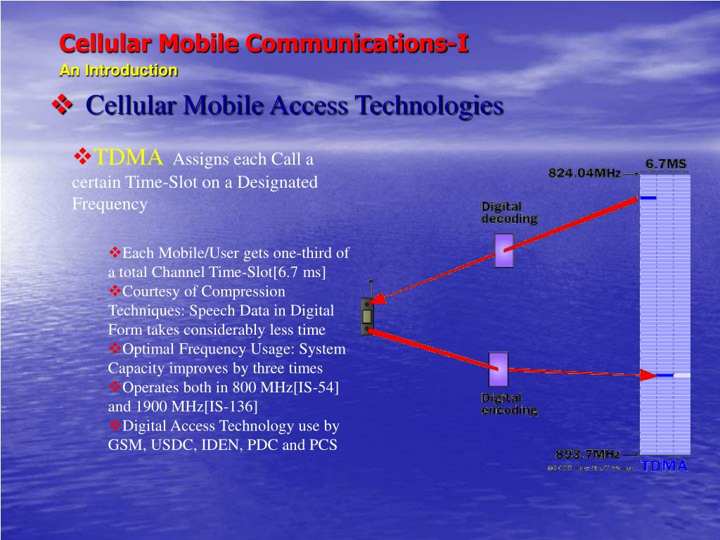 PPT - Cellular Mobile Communications-I An Introduction ...