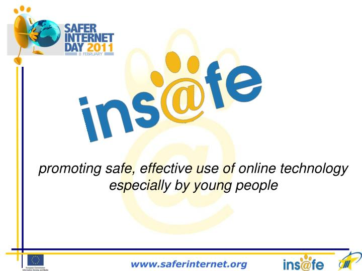 promoting safe effective use of online technology especially by young people n.