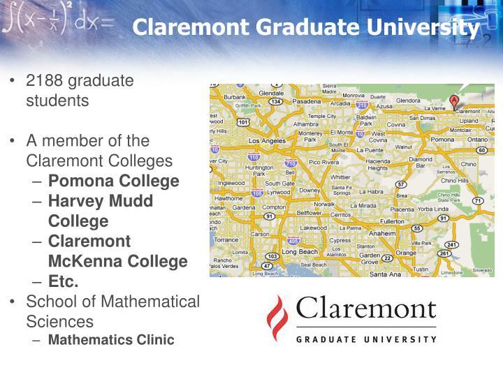 Claremont graduate university1