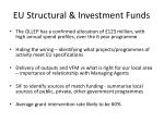eu structural investment funds