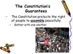 the constitution s guarantees