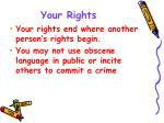 your rights1