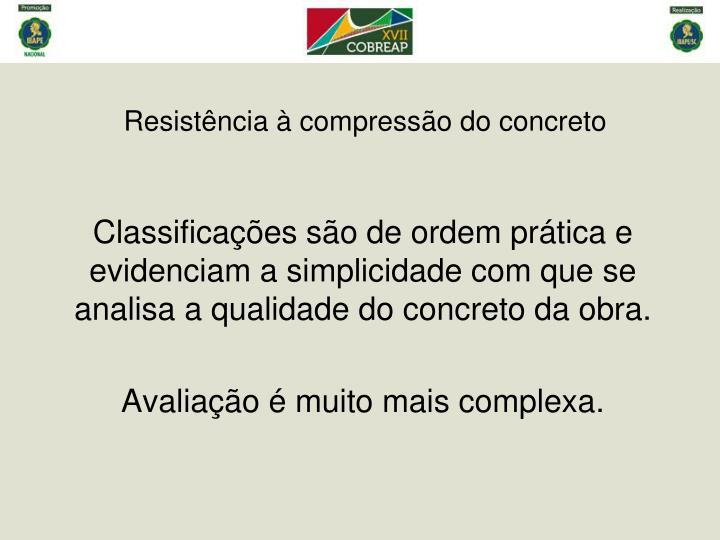 Resistência à compressão do concreto