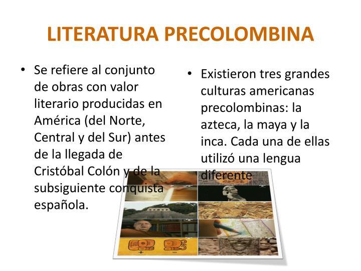 Literatura precolombina1