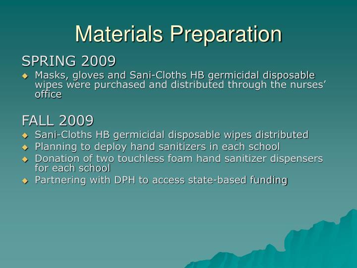 Materials Preparation