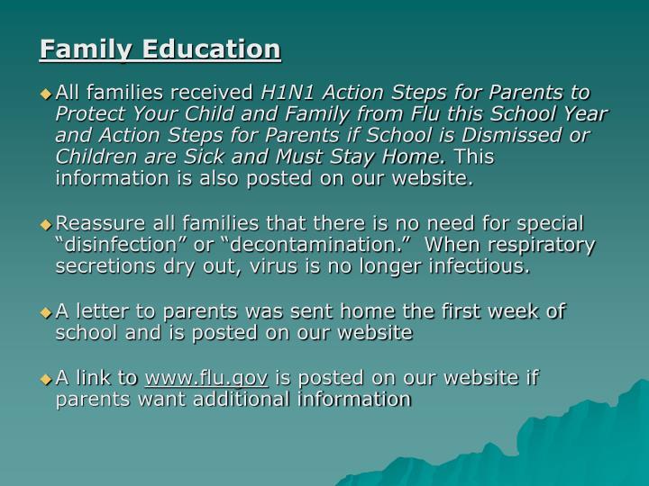 Family Education