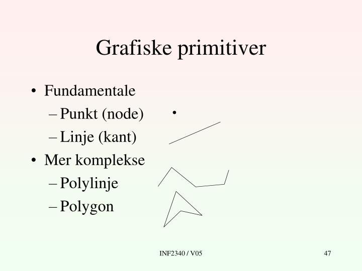 Grafiske primitiver