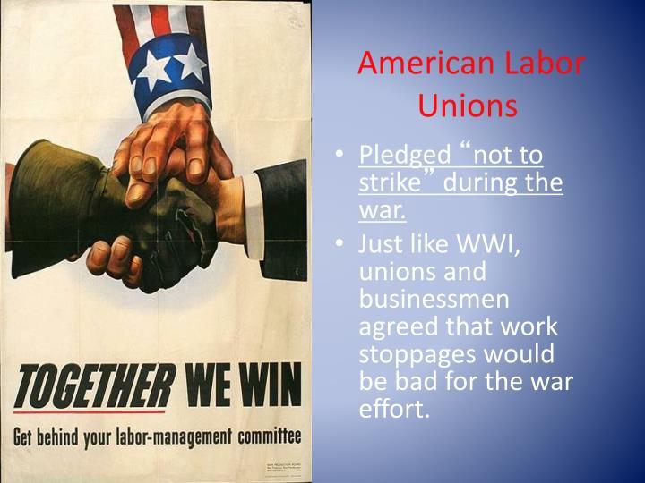 American Labor Unions