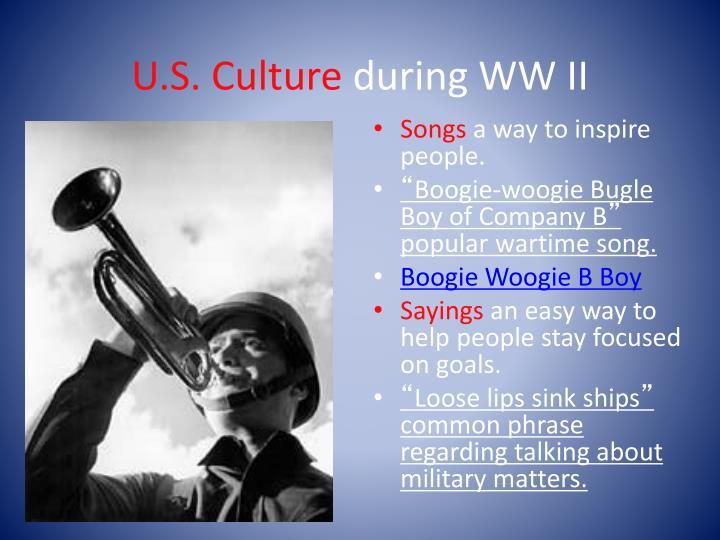 U.S. Culture