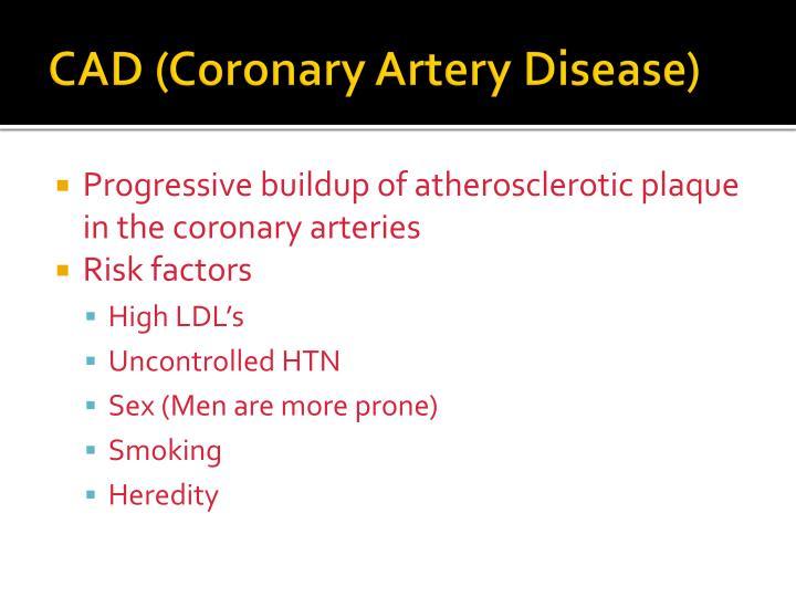 CAD (Coronary Artery Disease)