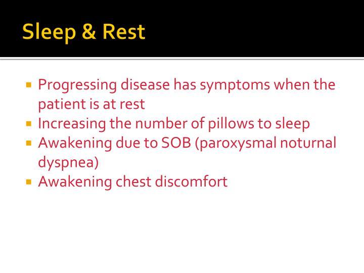 Sleep & Rest