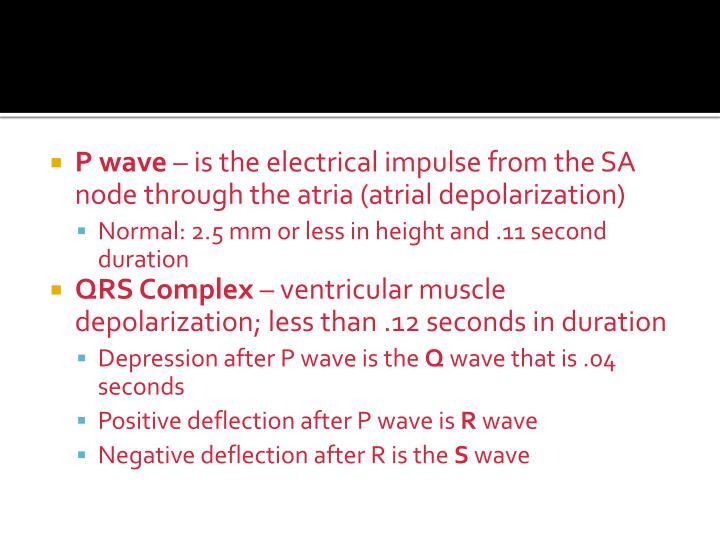 P wave