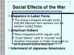 social effects of the war3