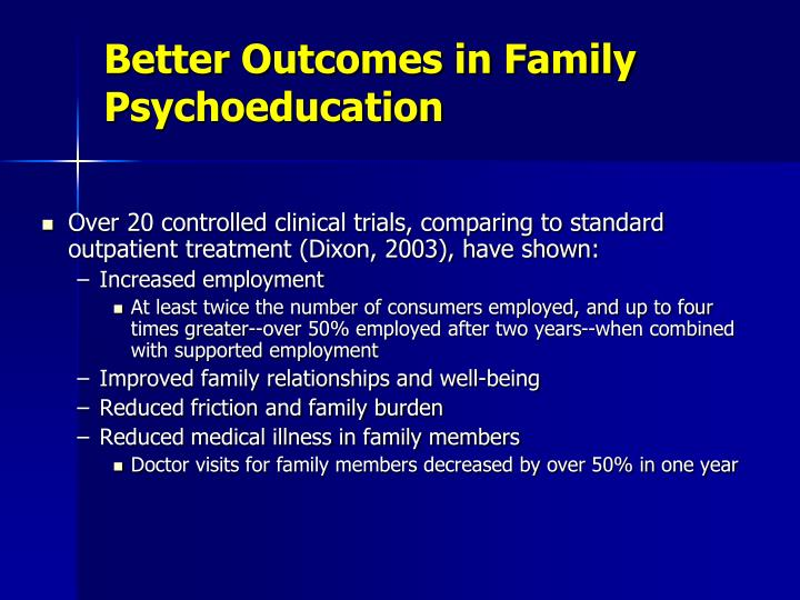 Better Outcomes in Family