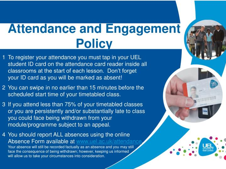 attendance and engagement policy n.