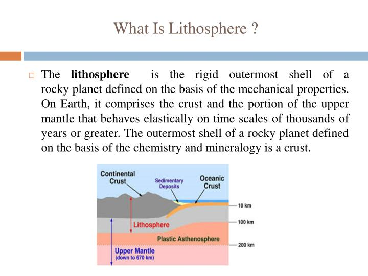 What Is Lithosphere ?