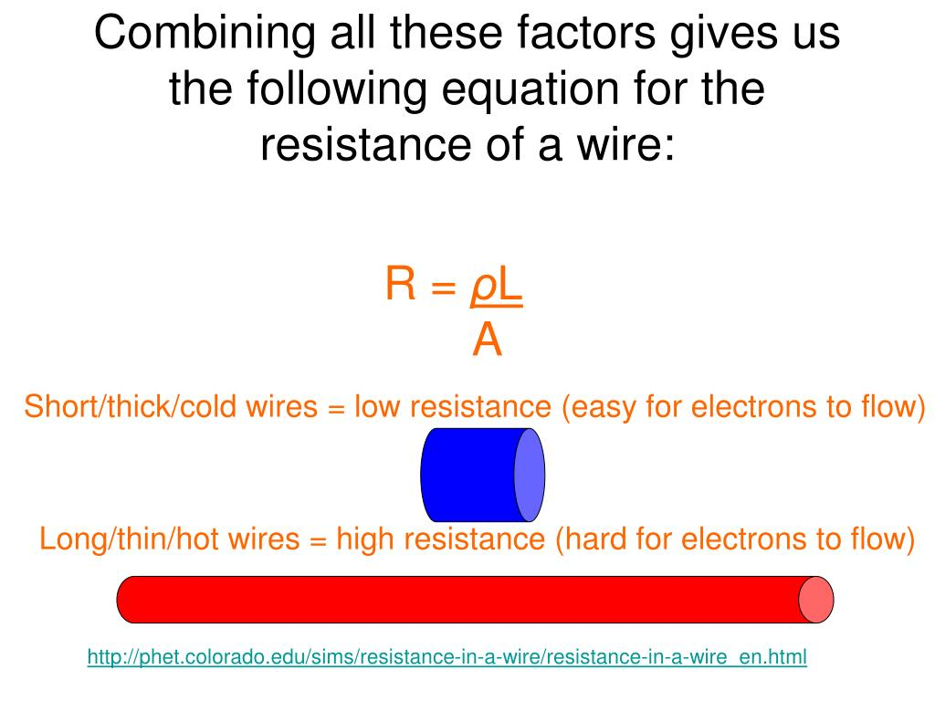 PPT - Ohm's Law/Resistance of a Wire PowerPoint ...