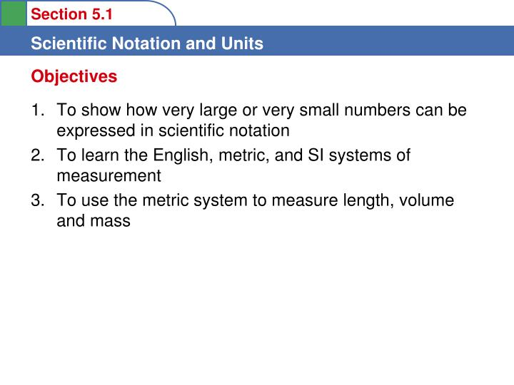 PPT - To show how very large or very small numbers can be expressed ...