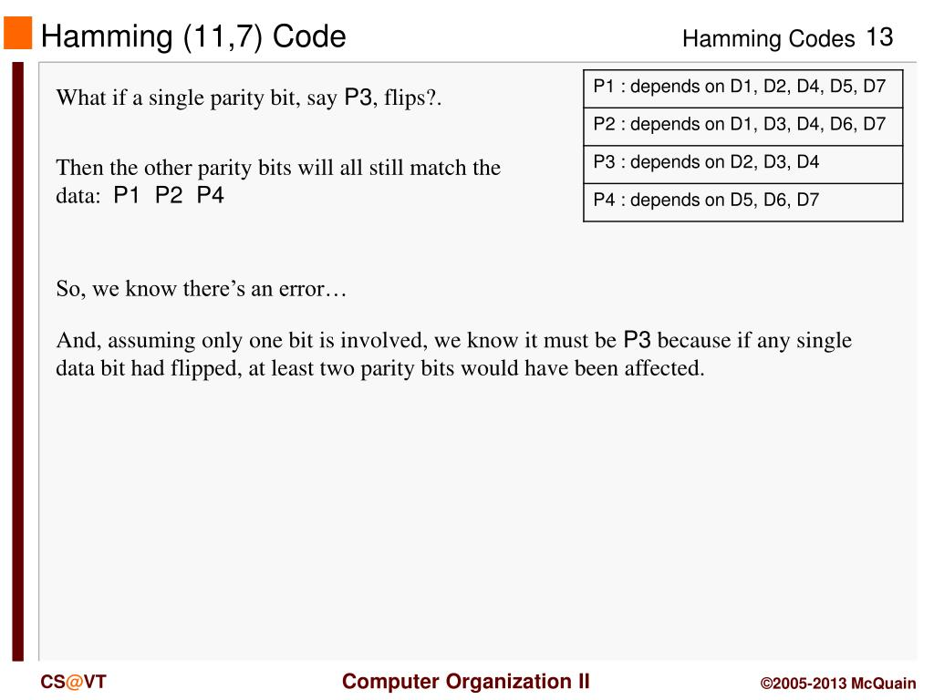 PPT - Error Detection PowerPoint Presentation - ID:5756886