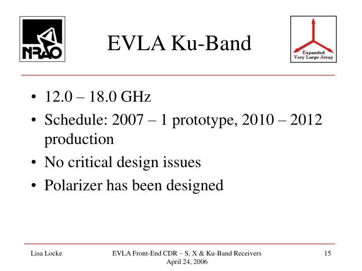 EVLA Ku-Band